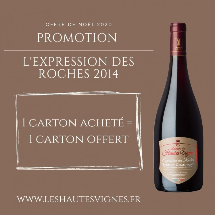 Exceptional offer on the Expression des Roches 2014