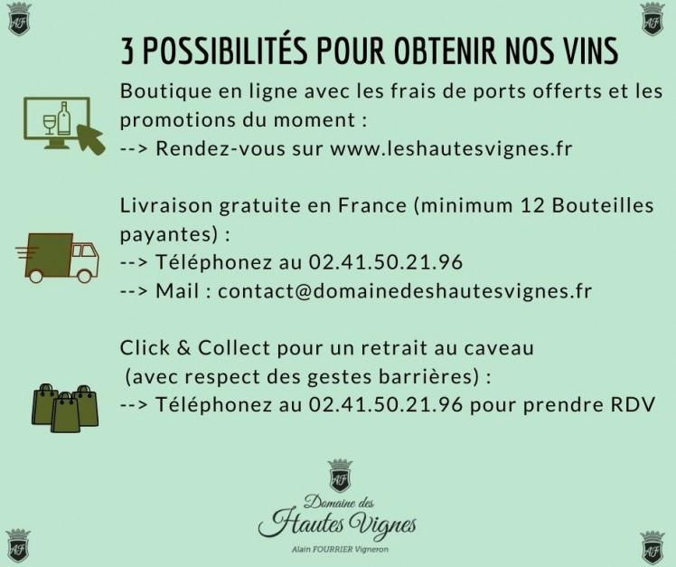 3 ways to buy Domaine des Hautes Vignes wines