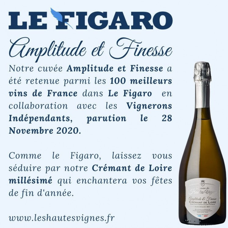 Amplitude and Finesse selected in Le Figaro